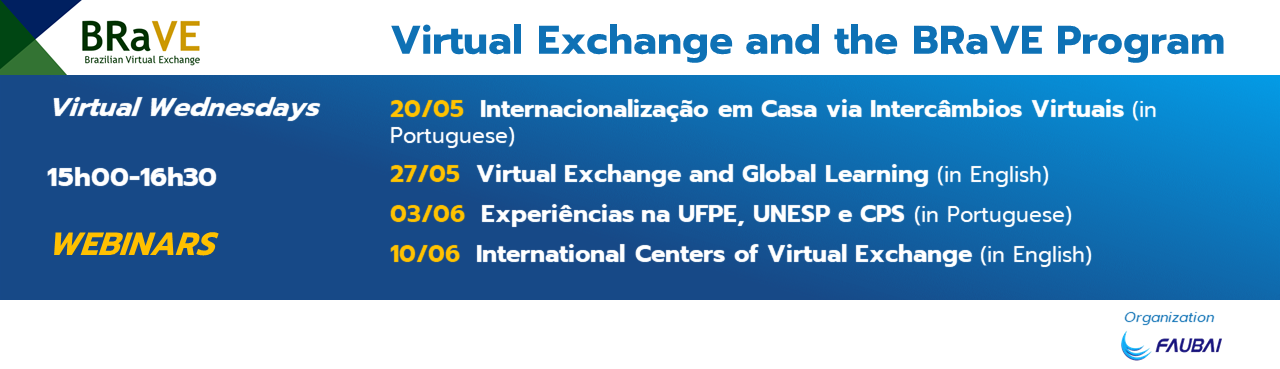 FAUBAI ORGANIZES WEBINARS ON VIRTUAL EXCHANGES