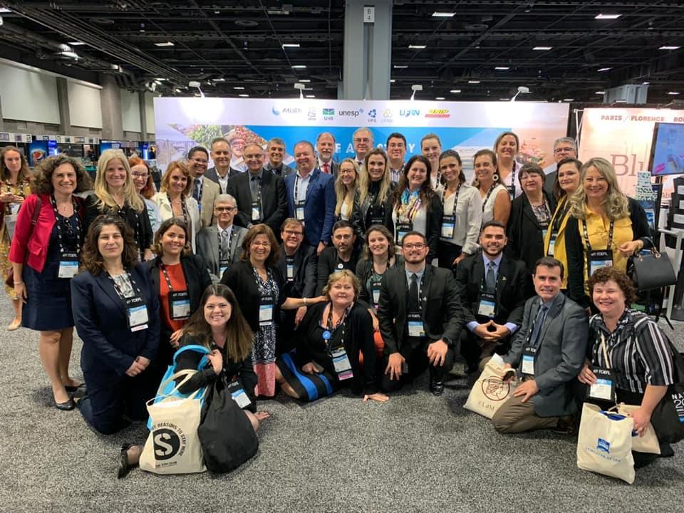 Brazilian higher education institutions' representatives at NAFSA 2019.